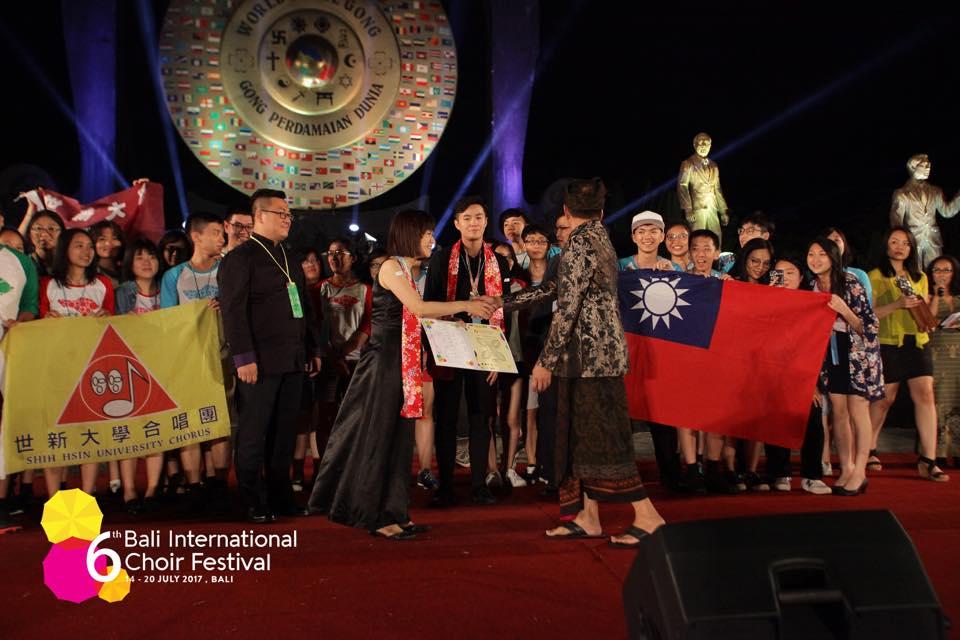 世新合唱團奪峇里島國際合唱大賽金牌!