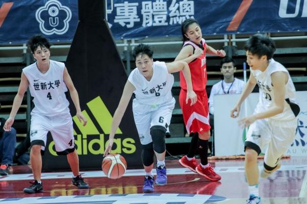 世新女籃UBA攻上第五 教練何正峰:再接再厲