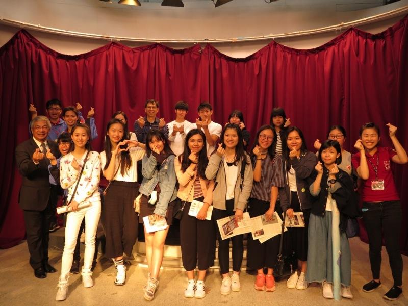 香港中學生:被薪傳人熱情融化 報考世新意願高!