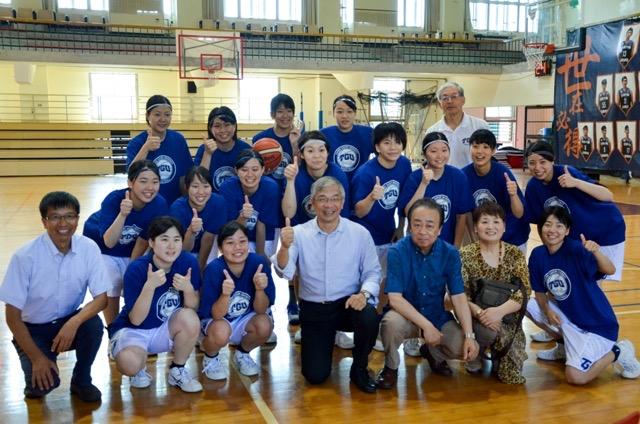 臺日交流瘋運動!世新、東北學院大學相約打籃球