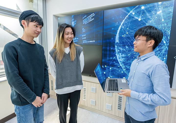 資訊傳播學系主要學習處理數位資訊傳播的能力